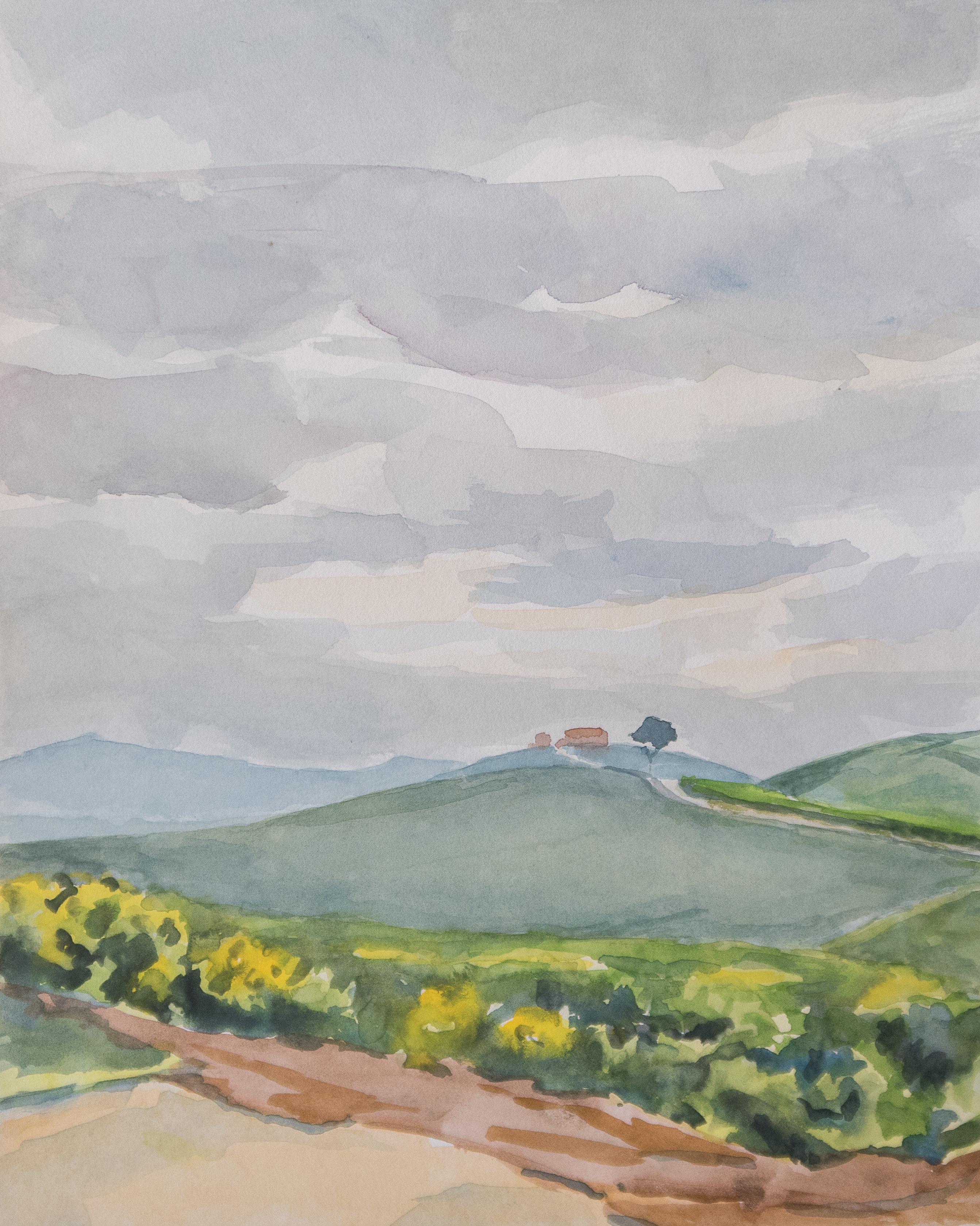 Collines siennoises printemps 1807