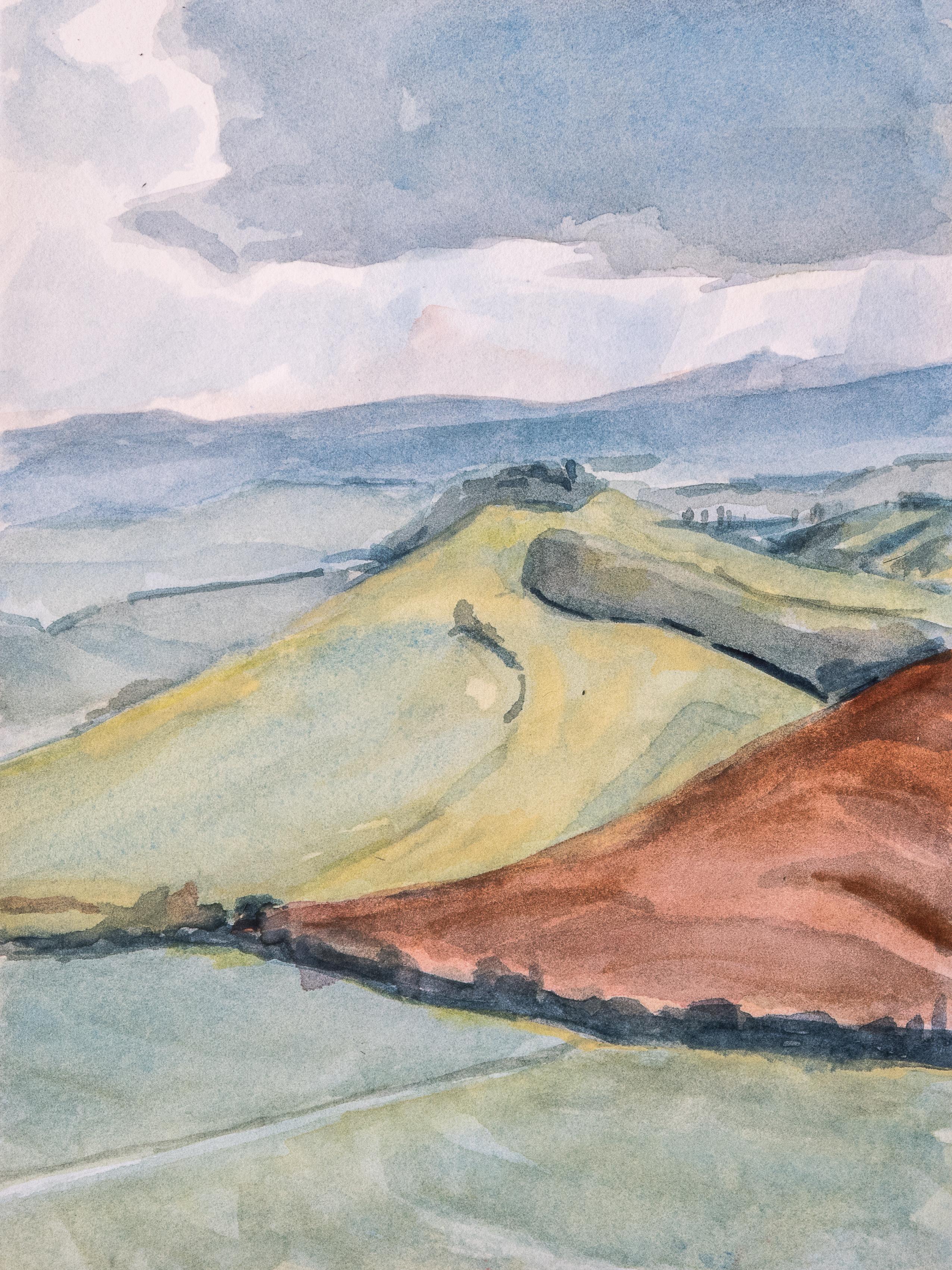 Collines siennoises printemps 1803