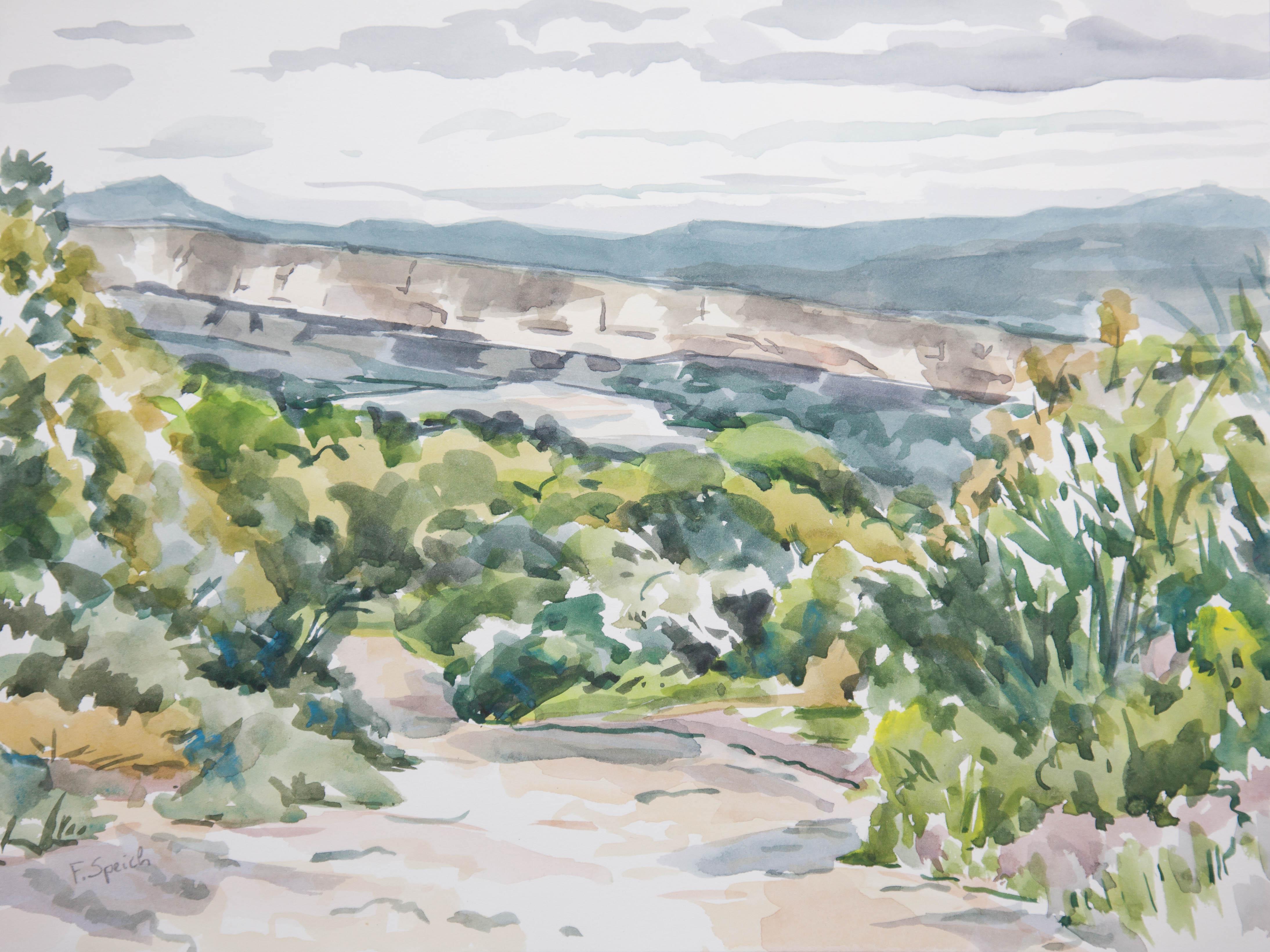 Luberon - Falaise de la Madeleine