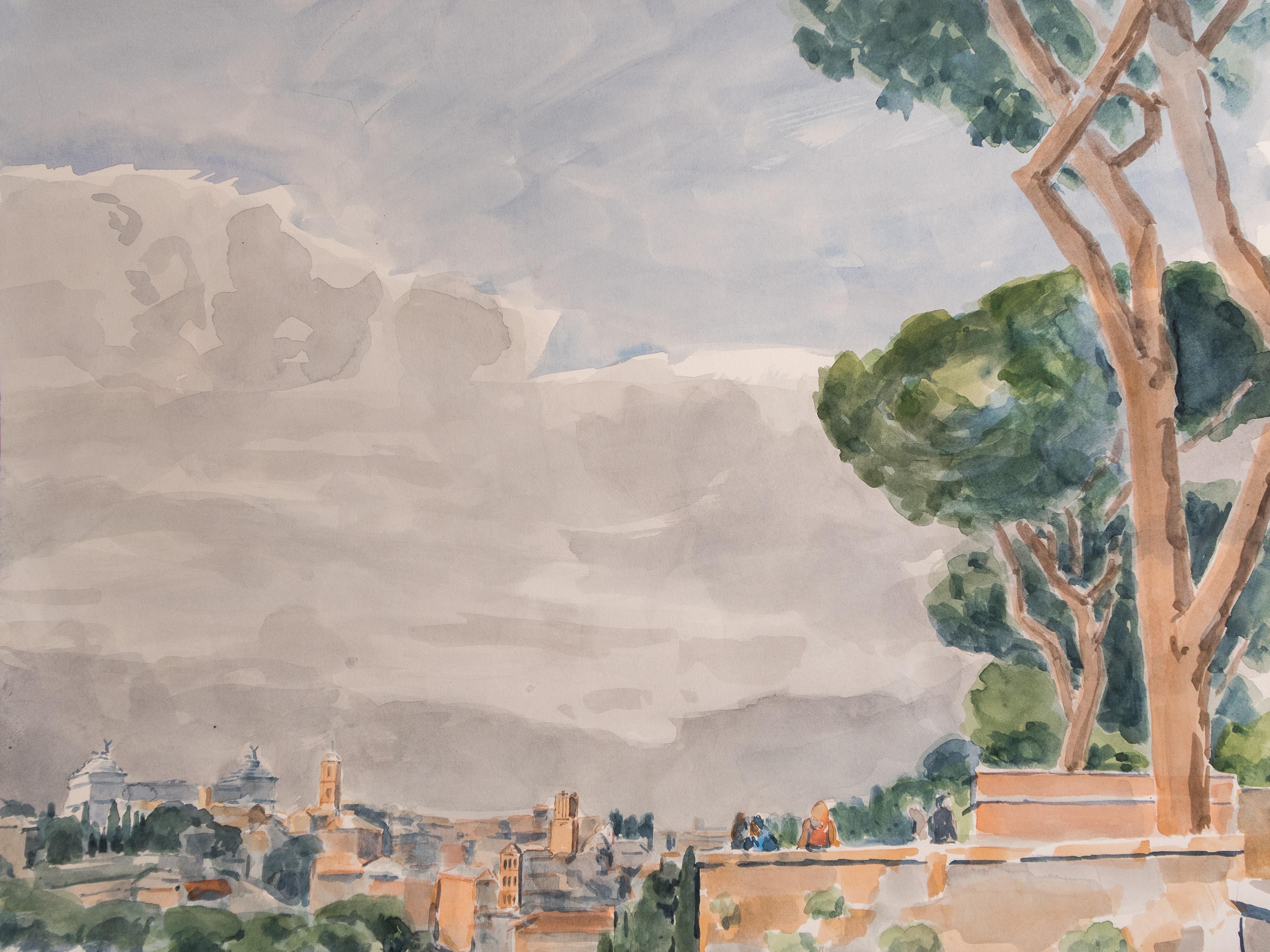 Rome depuis l'Aventin