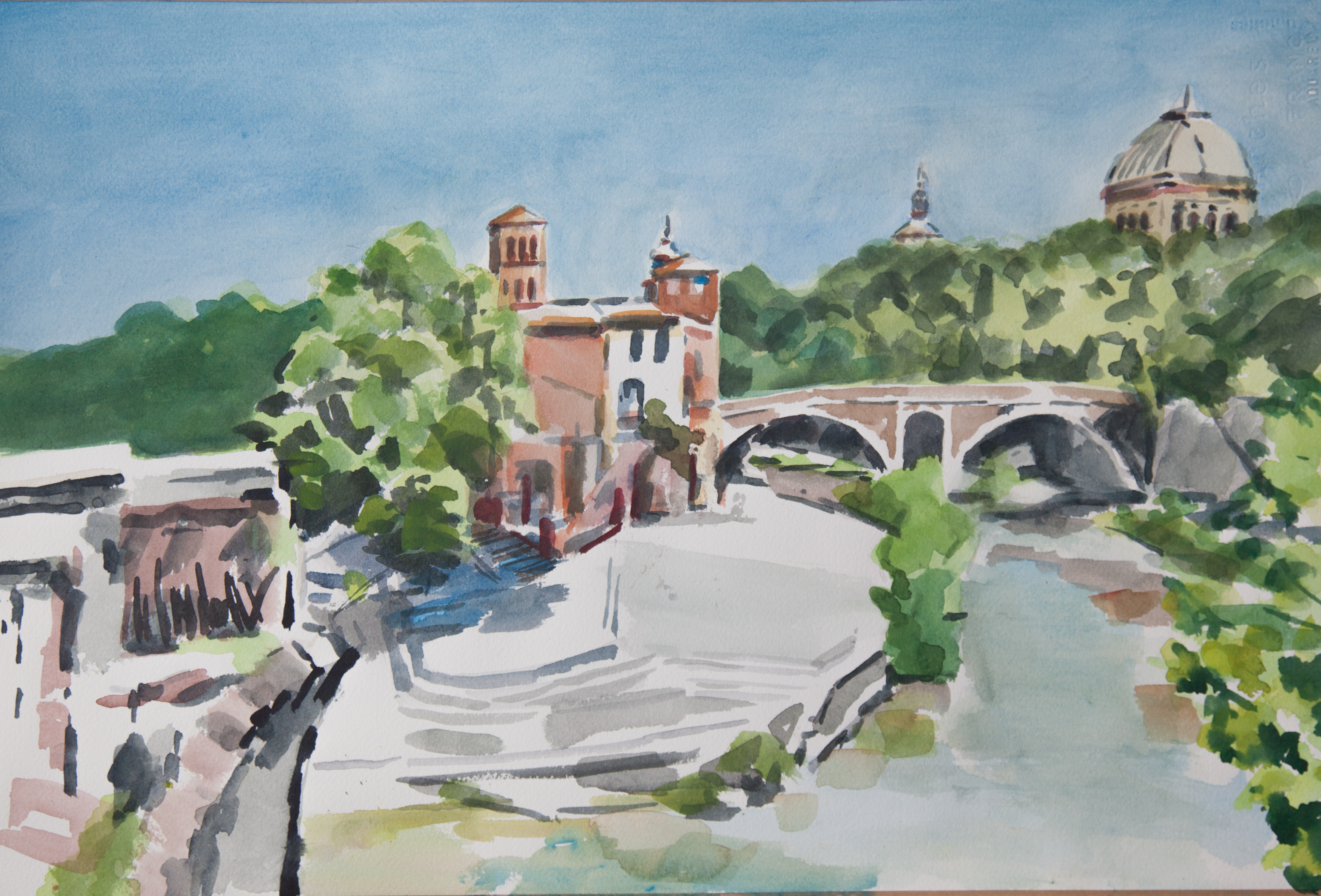 Roma - Ile du Tibre