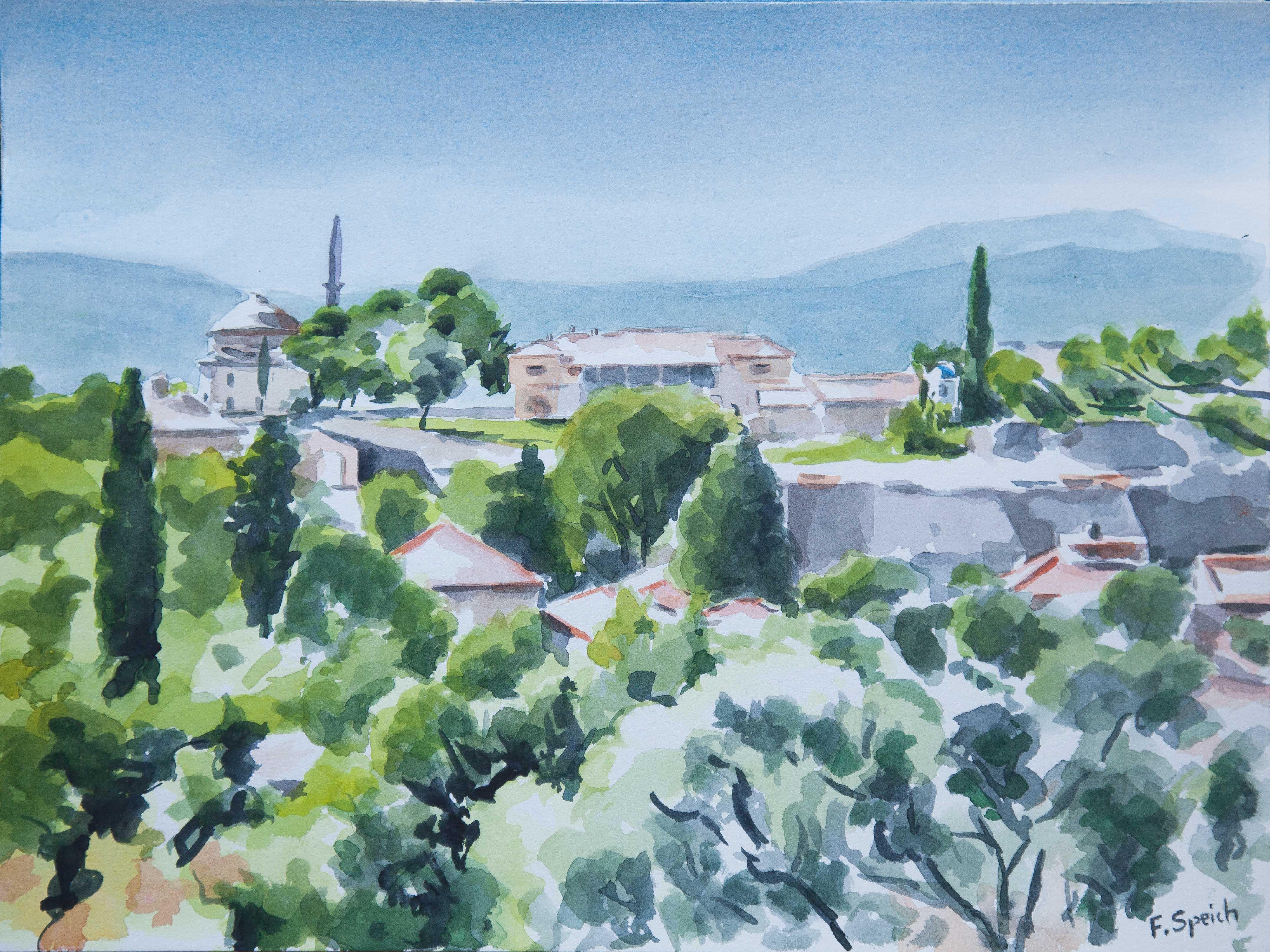 Grèce - Ioannina - Mosquée et église