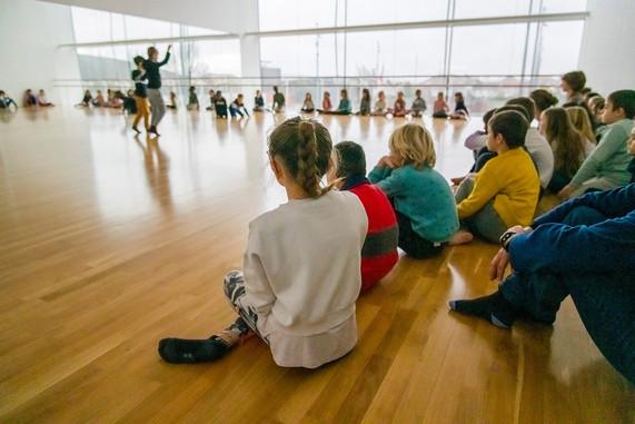 Atelier de sensibilisation aux Arts du mouvement