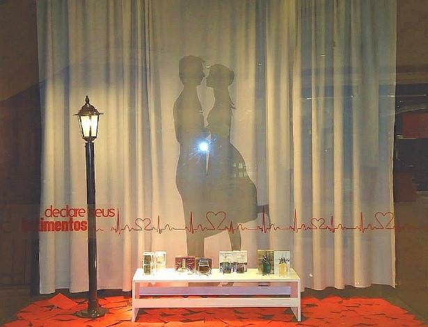 13 Ideias de Vitrines para o Dia dos Namorados