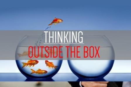 Pensar fora da caixa é preciso