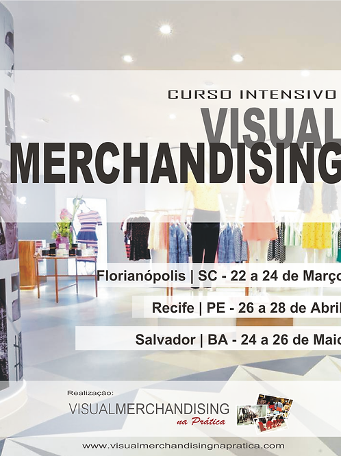 Curso de Visual Merchandising - Ed. Florianópolis Presencial