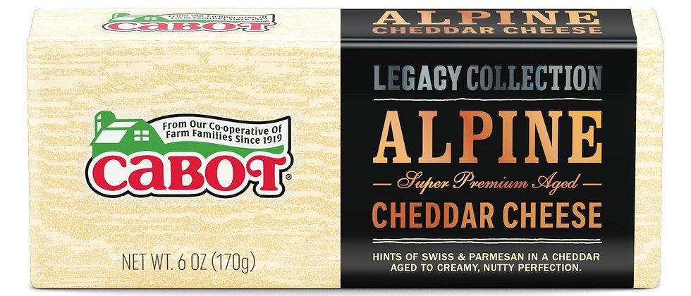 6 oz. Alpine Cheddar Cheese | Cabot Creamery