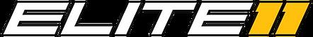 elite 11 logo horizontal with shadow whi