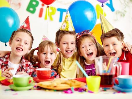 Отмечаем детские дни рождения!