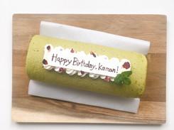 Matcha & Azuki Roll Cake