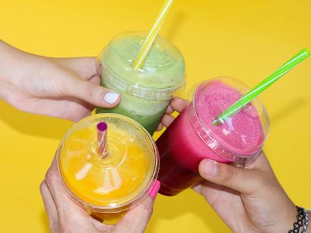 Sucos funcionais para o verão