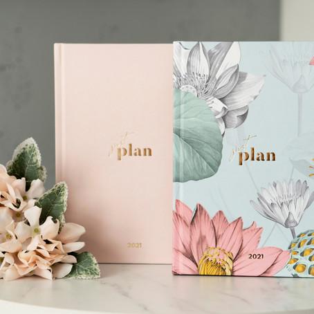 Zaplanuj swój rok! | Najlepsze planery i kalendarze na 2021.