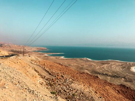 Masada i Morze Martwe - widoki, które zapierają dech w piersiach - Izrael część 2.