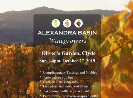 Exciting wine event coming up