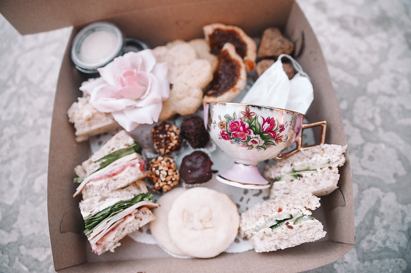 Bella's Castle High Tea To Go For Two