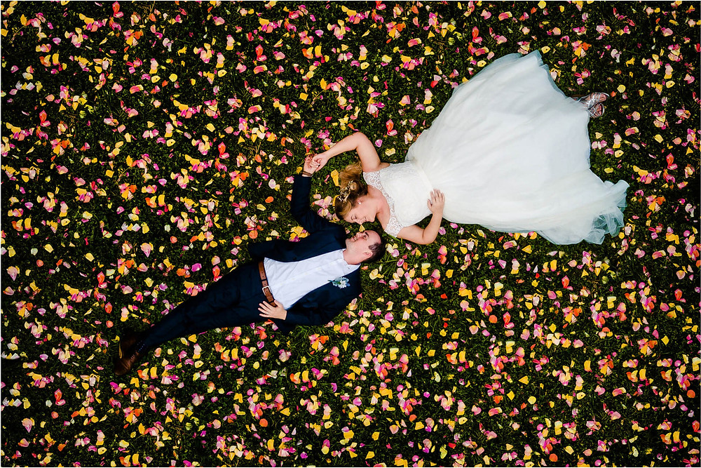 Finding new angles for wedding photography and videography
