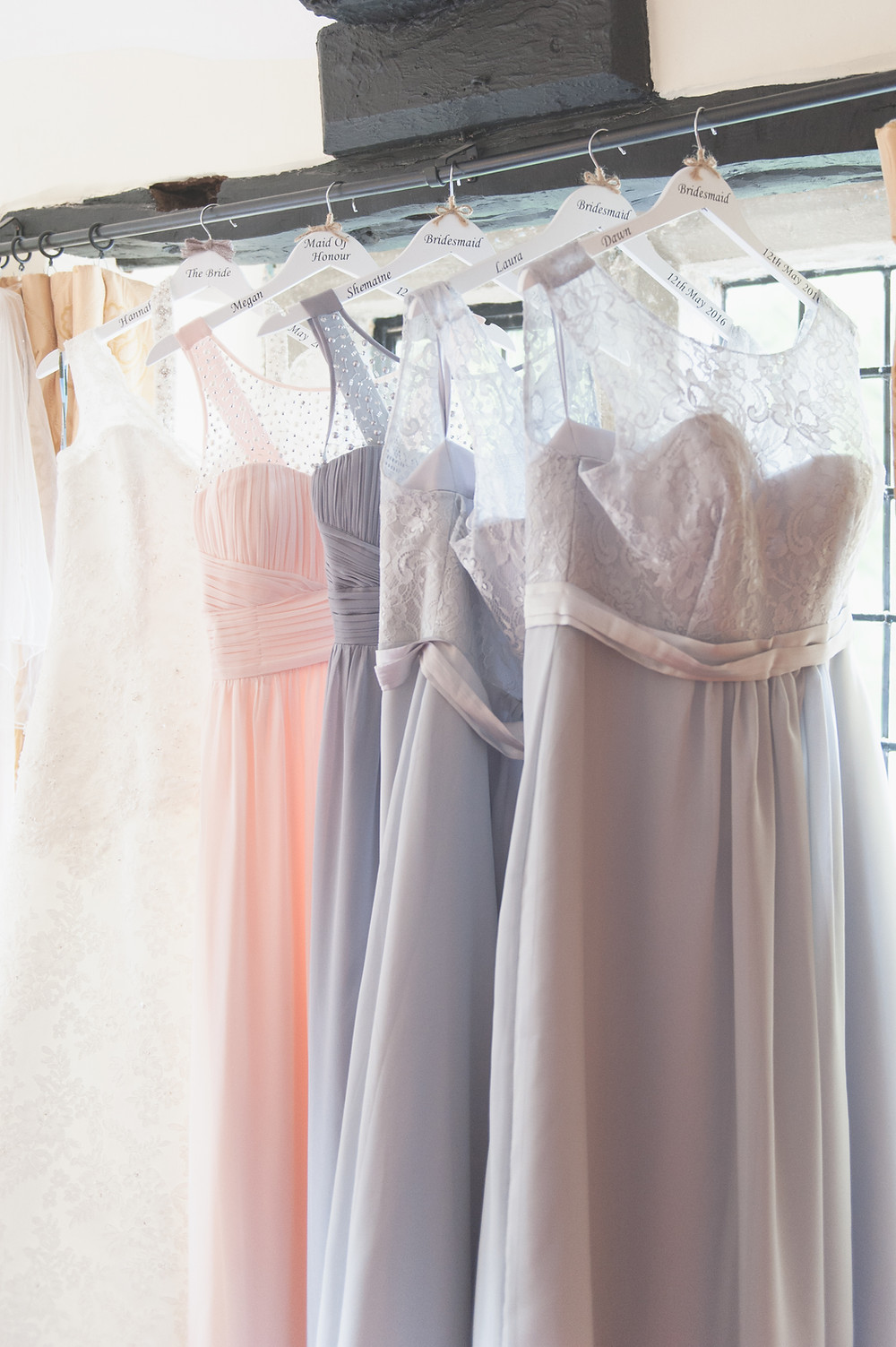 bridesmaids dresses all different