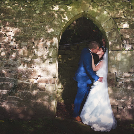 Ollie and Hannah at Clearwell Castle, Gloucestershire