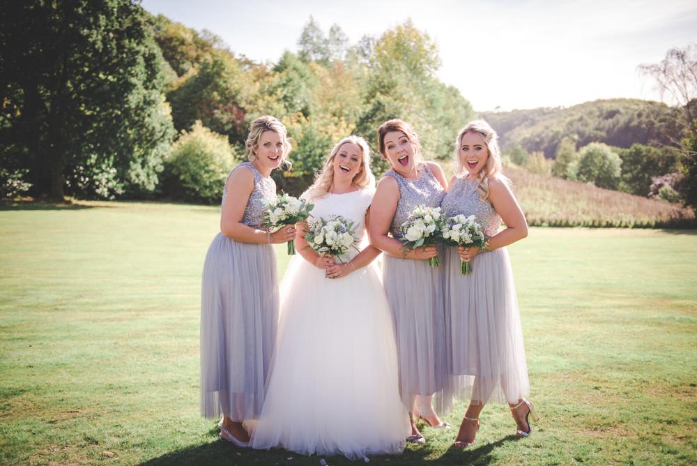 Bridemaids group shot