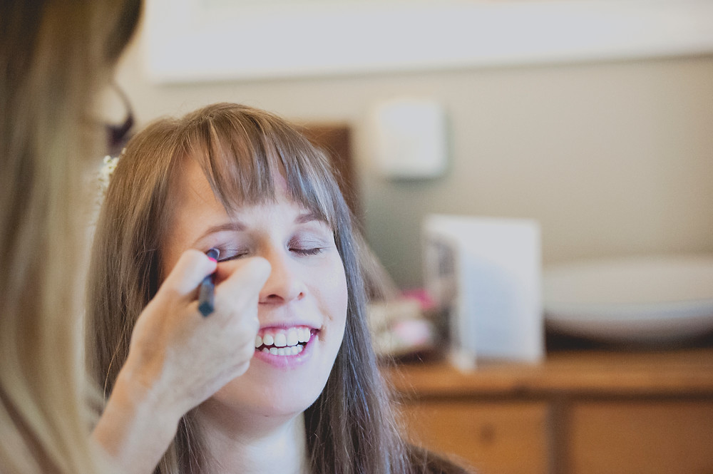 Bridal prep - eye make up