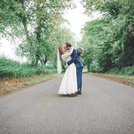 Vicki & Bob's English Countryside DIY Wedding
