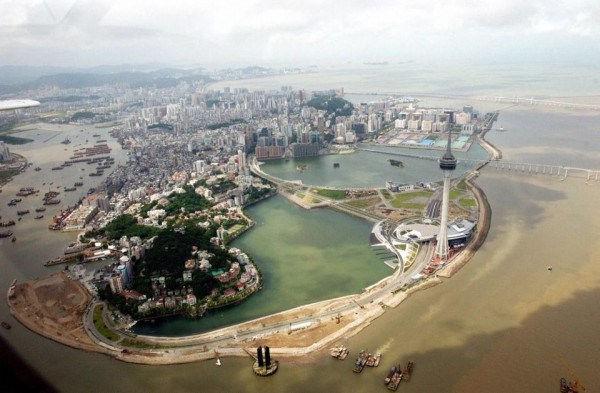 Macau birds-eye view