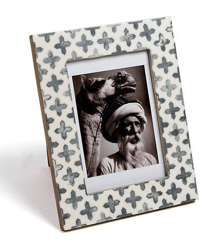 Black and White Enamel Photo Frames