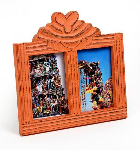Vermillon Rustic Frames