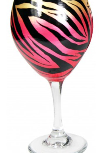 Faded Pink Zebra