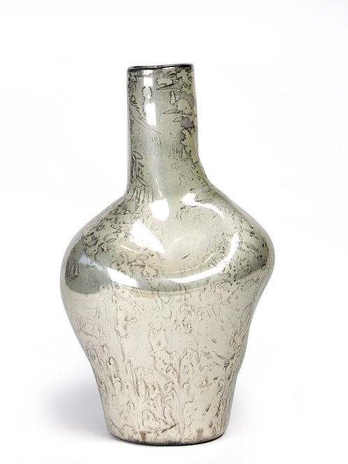 Silver's unusual vase