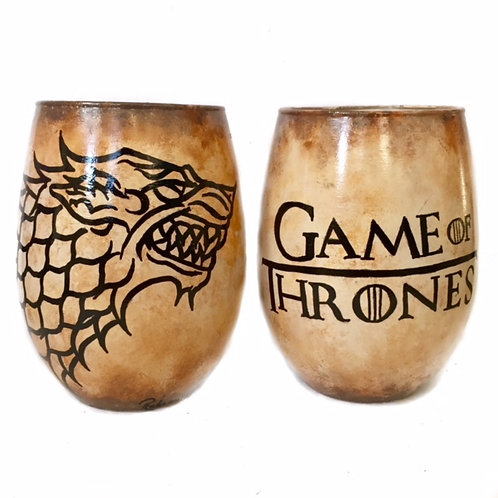 Game of Thrones Wolf (1 glass)