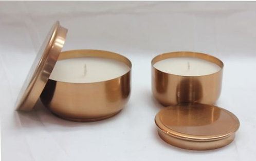 Amberish candleholders