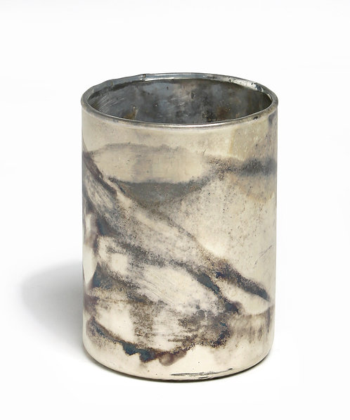 Abstract mix candleholder S/2