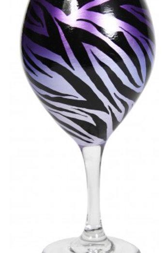 Faded Purple Zebra