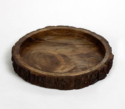 Bark carve up tray