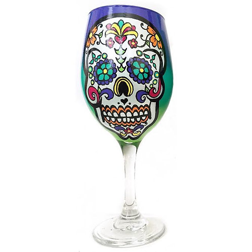 Purple Sugar Skull