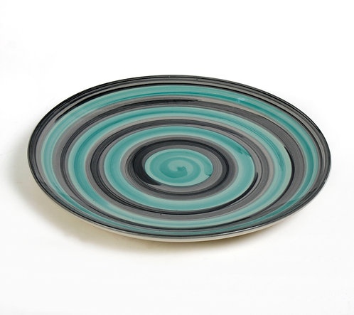 Turquoise coil plate