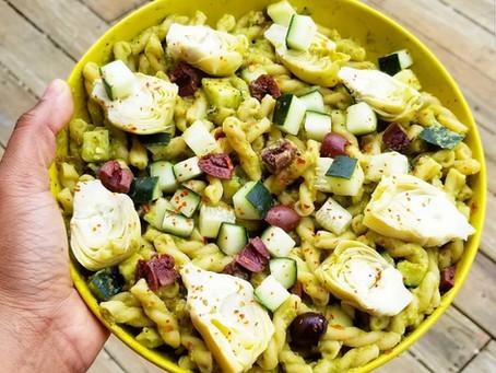 Vegan Grilling Series Pt 3: Hummus Pasta Salad
