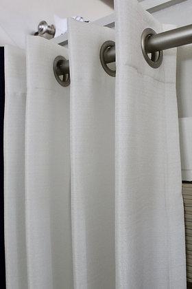 Faux Silk- White
