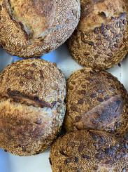 Bondebrød fra Pabst bakery med mel fra lammehave