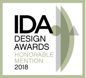 IDA award Honorable mention badge