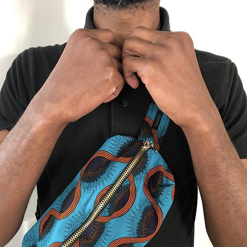 Orange Waves • The big belt bag
