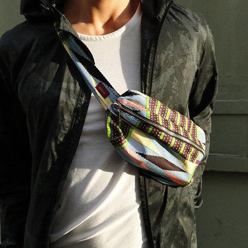 Multicolored • The big belt bag