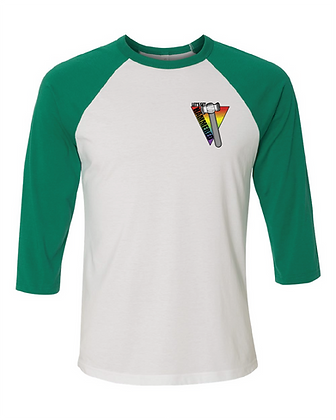 Rainbow Hammer Unisex Baseball Tee