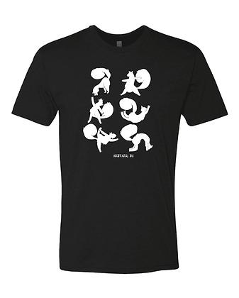 Yoga Squirrels T-Shirts