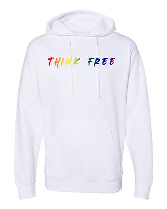 Think Free Rainbow Hoodie - Limited Qty