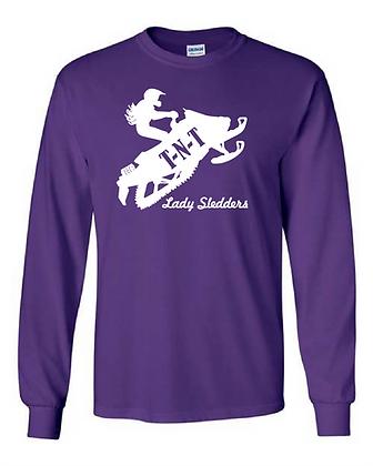 Lady Sledders Logo - Long-Sleeved Shirt