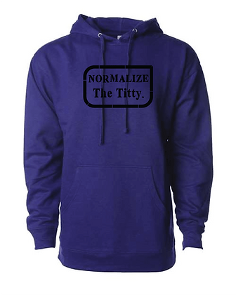 Normalize The Titty Premium Hoodie