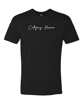 Category Human T-Shirt