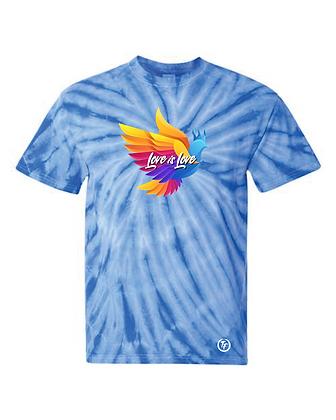 Love Is Love Tie Dye T-Shirt